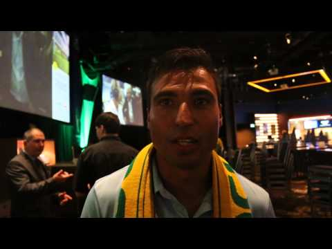 Australia V Chile World Cup 2014  Post Match Chat with Sydney FC's Nicky Carle