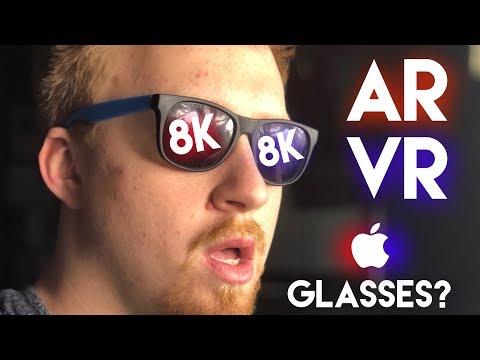 Apple Working on 8K/16K AR Glasses??