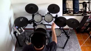 SLIPKNOT - PSYCHOSOCIAL - DRUM COVER HQ HD - Superior Drummer 2.0 + Metal Machine