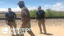 As es el campamento de la milicia que patrulla la frontera de Nuevo Mxico para detener a migrantes