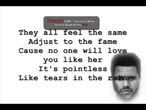 Tears In The Rain - The Weeknd [Lyrics]