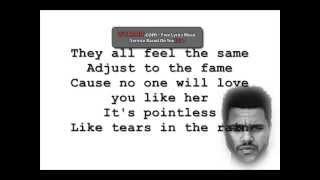 Tears In The Rain - The Weeknd [Lyrics]