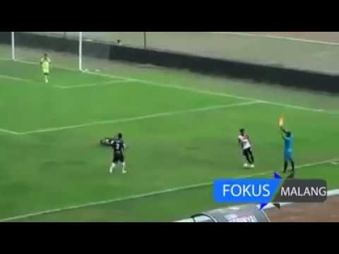 Football Fight In Indonesian Football Match