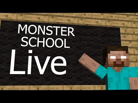 Thumbnail: Minecraft Monster Schools LIVE full hd