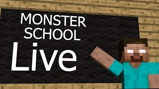Minecraft Monster Schools LIVE full hd