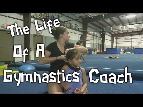 The Week Of A Gymnastics Coach| Rachel Marie