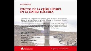 Efectos de la crisis hídrica en la matriz eléctrica