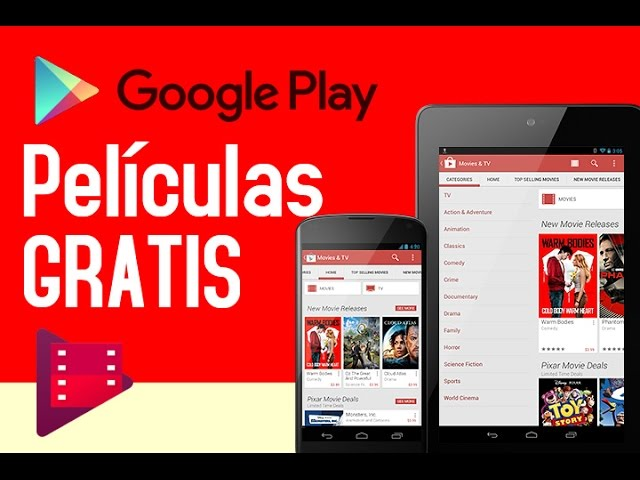 Cómo Ver Películas Online Gratis En Google Play Store Movies Youtube