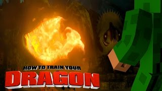 Minecraft - HOW TO TRAIN YOUR DRAGON 2 - [9] 'Fire Dragon Challenge'