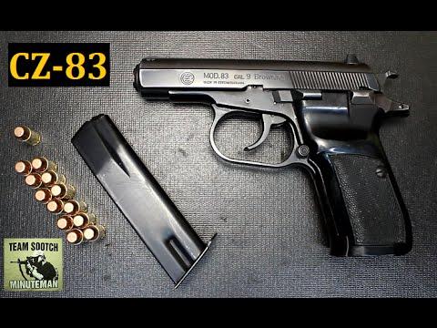 CZ 83 380 ACP Pistol Review