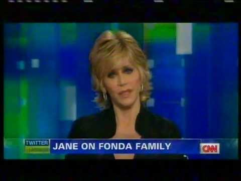 JANE FONDA INTERVIEW on piers morgan tonight CNN [part 1/3]