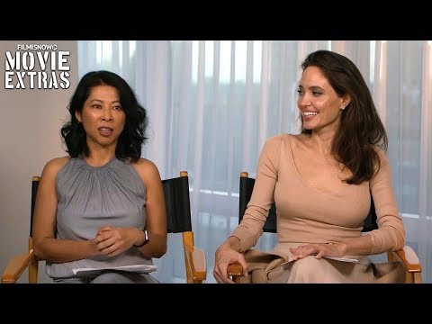 "First They Killed My Father ""Q&A"" with Angelina Jolie and Loung Ung 