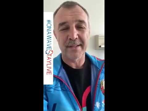 Владимир Япринцев с COVID-19 - тренировка из больницы