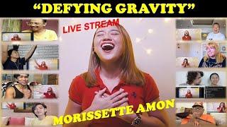 Morissette Amon SLAYS Defying Gravity | THIS WAS LIVE! SO IMPRESSED! | HONEST REACTION