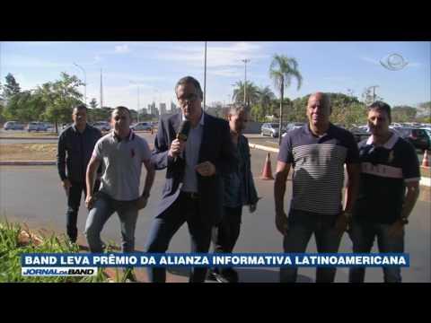 Band leva prêmio da Alianza Informativa Latinoamericana