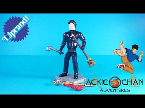 PLAYMATES TOYS - JACKIE CHAN ADVENTURES SECTION 13 JACKIE RECENSIONE (ita)
