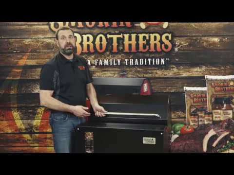 American Made Wood Pellet Grills by Smokin Brothers - YouTube