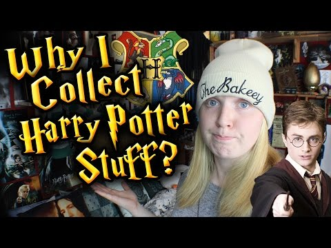 WHY I COLLECT HARRY POTTER MERCHANDISE!