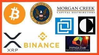 SEC Bitcoin ETF Feb 2019 - Congress Crypto Laws - Binance Institutional - Morgan Creek Digital Bet