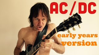 AC/DC + Rolling Stones mash up - You Ain't Got A Hold On Me/Harlem Shuffle