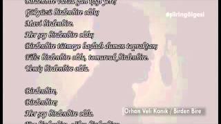 Orhan Veli-Birden Bire - Şiirin Gölgesi