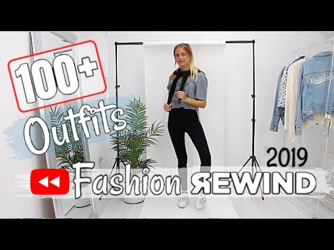 [VIDEO] - 100+ OUTFITS - FASHION REWIND 2019 5