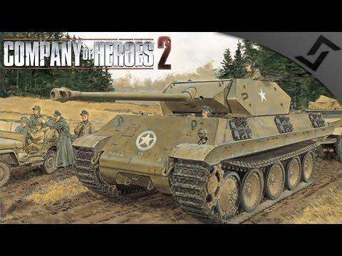 German Stielau Kommandos - Company of Heroes 2 - PvP Spearhead Mod Part 1