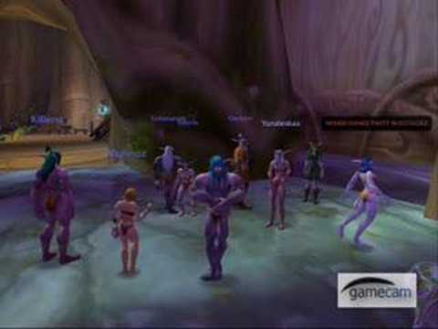 WoW Naked Dance Party!