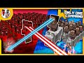 Minecraft - Clay Soldiers Wars with only one command block | Make awesome battles!