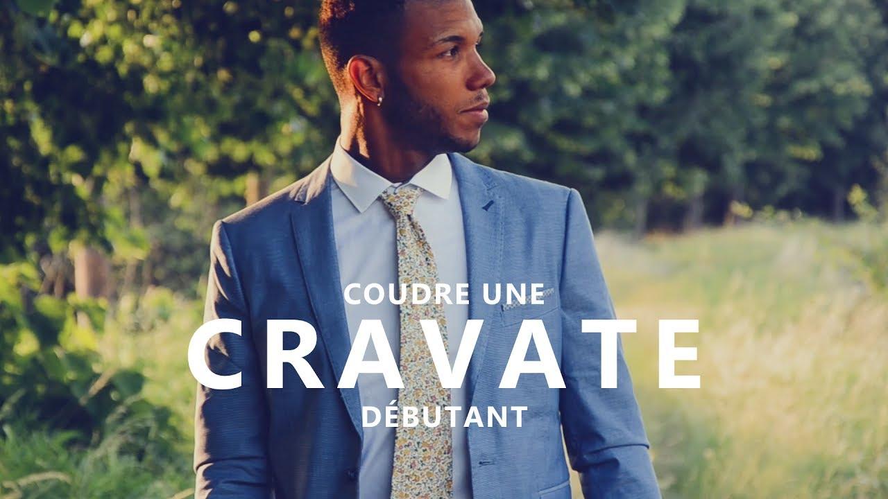 coudre une cravate tuto couture pour homme d butant youtube. Black Bedroom Furniture Sets. Home Design Ideas