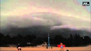 Yaklaşan Kasırganın Gökyüzünü Saran Dehşetverici Sesi Finlandiya