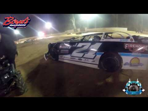 #J21 Justin Begley - Sportsman Late Model - 3-18-17 Boyd's Speedway - Dirt In-Car Camera