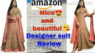 eid collection dress 2019|Designer suits online|New Design suit|Amazon Anarkali suit Review