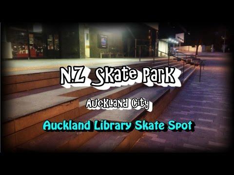 NZ Skate Park Ep 51 - Auckland City Library Skate Spot