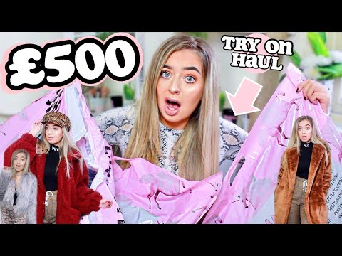 OH HONEY.. £500+ PRETTYLITTLETHING TRY ON HAUL! And this is what happened.. ad