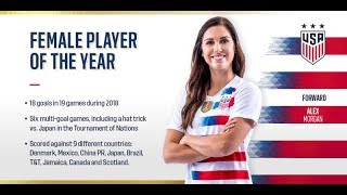 Alex Morgan Highlights- Skills and Goals 2018/19 |HD|