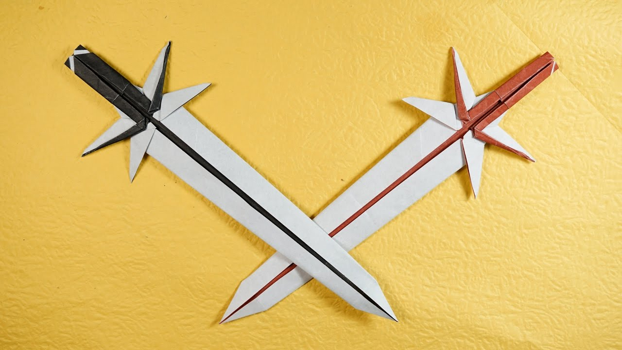 Paper Sword - Origami Grand Sword Tutorial (Henry Phạm ...