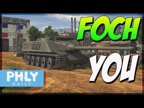 FOCH YOU | AMX-50 Foch Beast French Tank Destroyer (War Thunder 1.75 Gameplay)