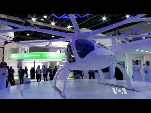 Drones Steal the Show at Dubai Technology Week