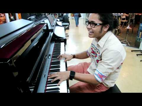 Hafiz At Swee Lee Guitar Shop, Bras Basah Complex, Singapore (Part3)