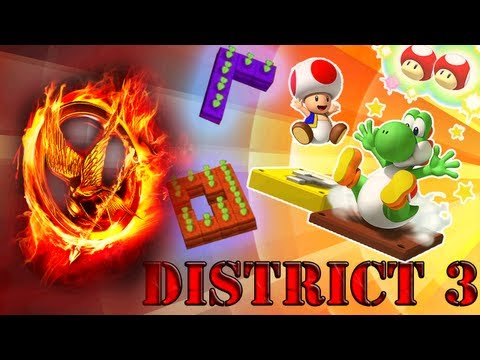 Sleepover Saturdays - The Hunger Games - District 3: Mario Party 9