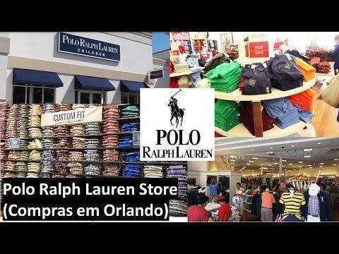 Polo Ralph Lauren Store (Compras em Orlando)