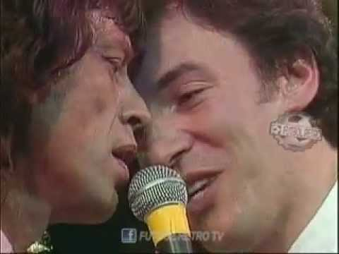 Mick Jagger & Bruce Springsteen 1988 - (I Can't Get No) Satisfaction (archivo FUTBOL RETRO TV)