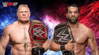 Brock Lesnar vs Jinder Mahal at Survivor Series 2017