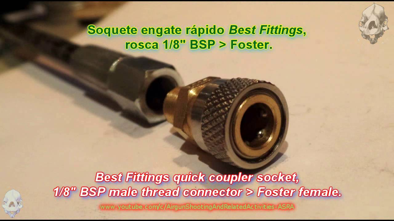 PCP Connections: Best Fittings Quick Coupler Starter Kit (Adaptadores  Foster - 1/8
