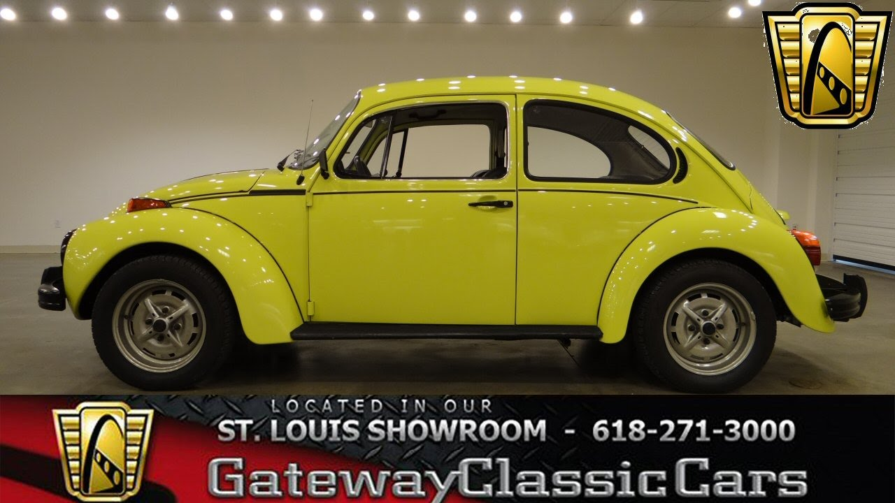 1973 Volkswagen Sports Bug - Gateway Classic Cars St. Louis - #6259 - YouTube