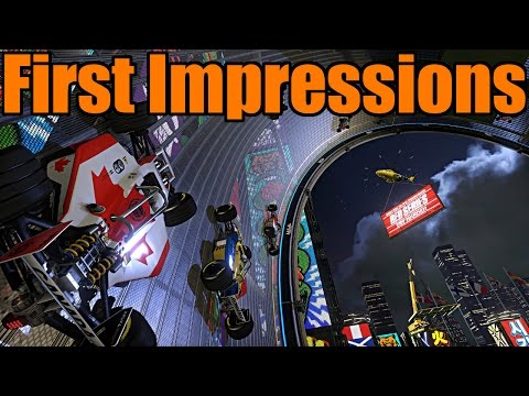 Trackmania Turbo | First Impressions, Gameplay, Track Generator | 1080p 60 FPS