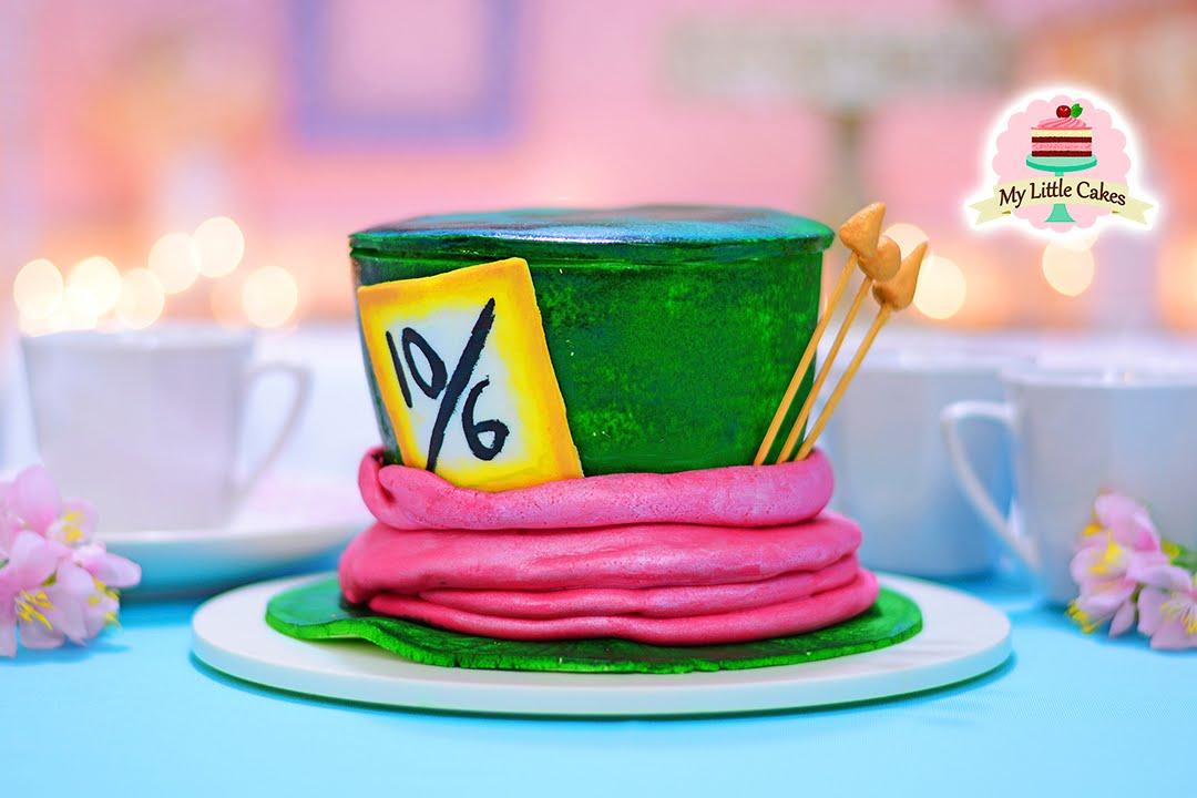 Hatter Cake Alice In Wonderland My Little Cakes Youtube
