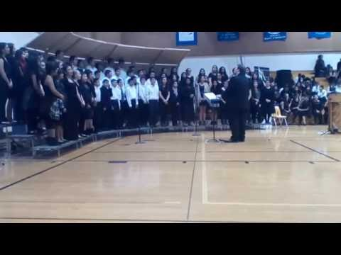 Cross the Wide Missouri sung by the Wapato Middle School Choir