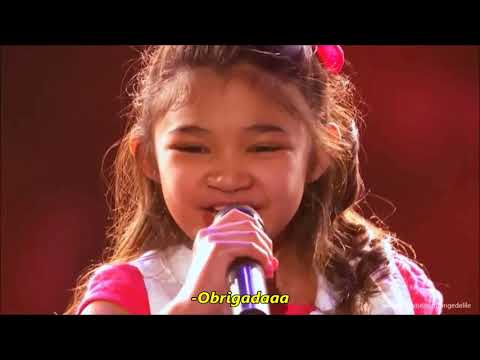 Angelica Hale cantando Girl On Fire by Alicia Keys